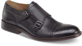 Johnston & Murphy Men's Fletcher Embossed Double Monk Cap-Toe Loafer Men's Shoes