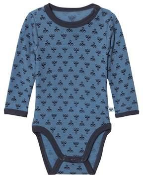 Hummel Molde Ls Wool Bodystocking Aw17 Copen Blue