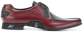 Prada perforated Derby shoes