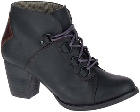 CAT Footwear Black & Tawny Arbor Leather Bootie