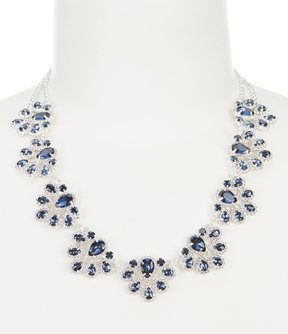 Cezanne Pavlova Rhinestone Statement Necklace