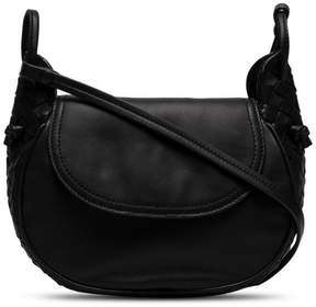 Bottega Veneta black Leather Cross body Bag