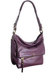 Oryany As Is Pebble Leather Hobo Bag - Abbey