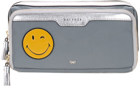 Anya Hindmarch Smiley Wink make-up pouch