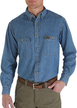 Wrangler Long-Sleeve Work Shirt