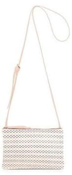 Fiorelli Bunton Double Compartment Stripe Crossbody Bag