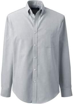 Lands' End Lands'end Men's Tall Tailored Fit Long Sleeve Buttondown Oxford Dress Shirt