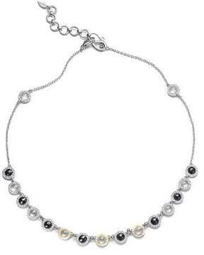 Coomi Opera Black Spinel & Diamond Necklace, 16