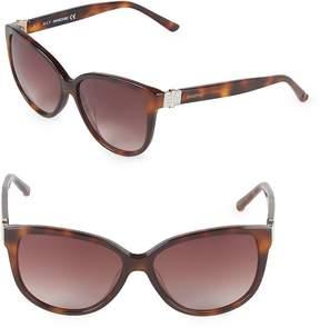 Swarovski Women's 56MM Butterfly Sunglasses