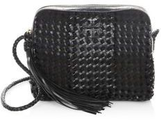 Tory Burch Taylor Leather Camera Bag - BLACK - STYLE