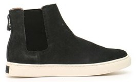 Ralph Lauren Men's Black Suede Ankle Boots.