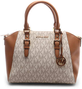 Michael Kors Vanilla & Acorn Ciara Crossbody Bag - VANILLA - STYLE