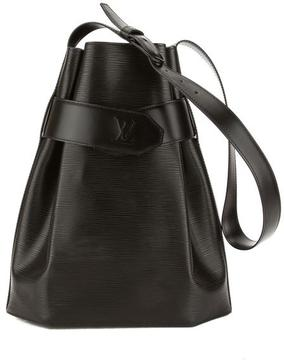 Louis Vuitton Noir Epi Leather Sac D'Epaule Bag - BLACK - STYLE