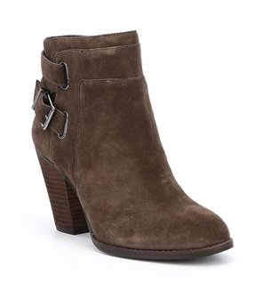 Gianni Bini Dayvis Suede Belted Booties
