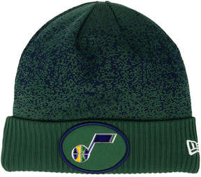 New Era Utah Jazz On Court Collection Cuff Knit Hat