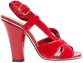 Marc Jacobs Velvet sandals