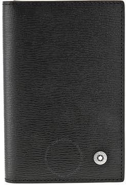Montblanc Westside Black Leather Business Card Holder