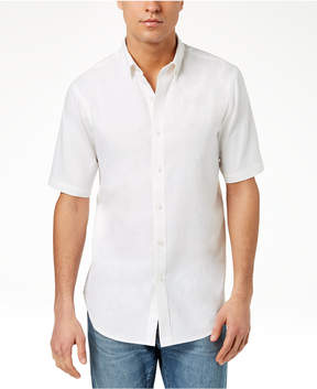 Club Room Men's Linen Shirt, Created for Macy's