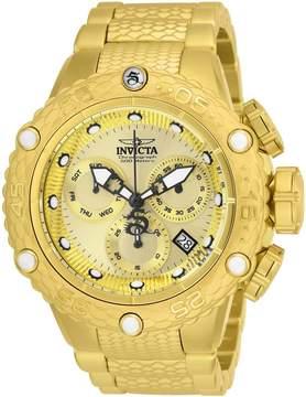 Invicta Subaqua Chronograph Gold Dial Men's Watch