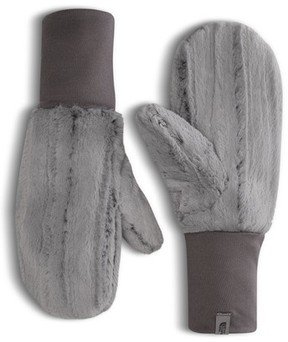 The North Face Women's Furlander Faux Fur Mittens