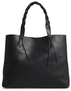 Sole Society Amal Faux Leather Tote - Black