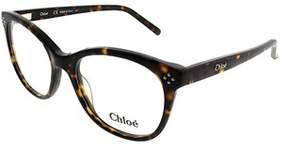 Chloé Ce 2674 219 52mm Tortoise Square Eyeglasses.