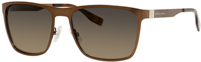 Safilo USA BOSS 0597 Rectangle Sunglasses