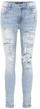Amiri Painter Thrasher skinny jeans