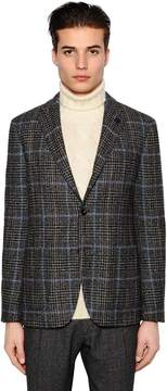 Lardini Exclusive Prince Of Wales Wool Jacket