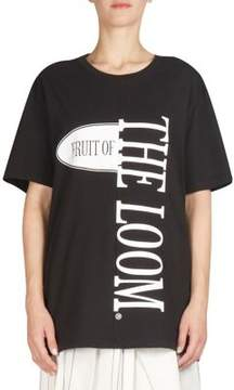 Cédric Charlier Cotton Logo T-Shirt