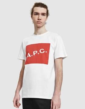 A.P.C. Kraft T-Shirt Red