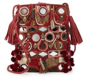 Sequined Shoulder Bag