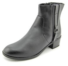 Karen Scott Dara Round Toe Synthetic Boot.