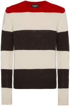 Calvin Klein striped knitted jumper