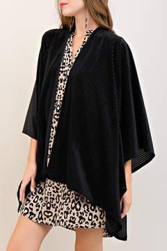 Entro Velvet Kimono Jacket