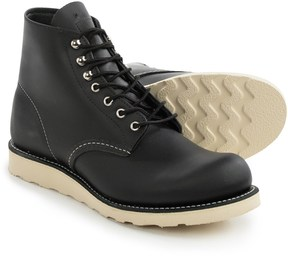 """Red Wing Shoes 8165 6"""" Round Toe Boots - Leather, Factory 2nds (For Men)"""
