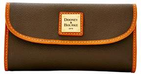Dooney & Bourke Eva Continental Clutch Wallet - BROWN TMORO - STYLE