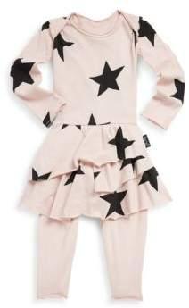 Nununu Baby's Star Cotton Bodysuit