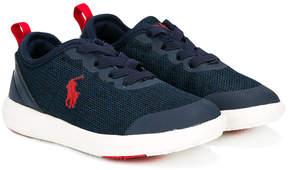 Ralph Lauren logo lace-up sneakers