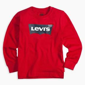 Levi's Toddler Boys 2T-4T Long Sleeve Graphic Tee T-Shirt 3T