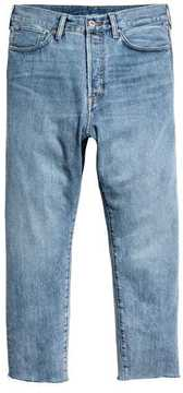 H&M Relaxed Cropped Jeans