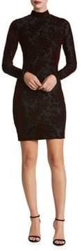 Dress the Population Dana Mini Velvet Bodycon Dress