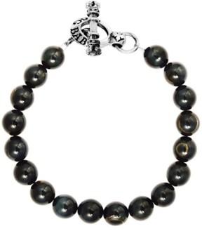 King Baby Studio Men's Tiger'S Eye Bracelet