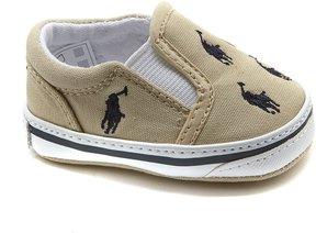 Ralph Lauren Bal Harbor Slip-On Oxfordcloth Sneakers