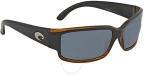 Costa del Mar Caballito Gray 580p Wrap Sunglasses CL 52 OGP