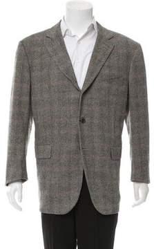 Luciano Barbera Tweed Wool Blazer