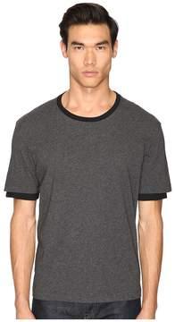 ATM Anthony Thomas Melillo Layered Sleeve Crew Tee Men's T Shirt