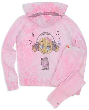 Butter Shoes Girls' Crackle Emoji Hoodie - Big Kid