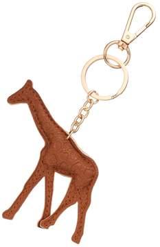 Mudd® Faux Leather Giraffe Key Chain