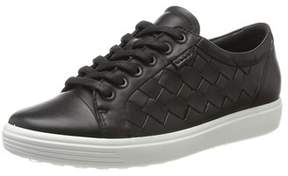 Ecco Womens Soft 7 Low Top Lace Up Fashion Sneakers.